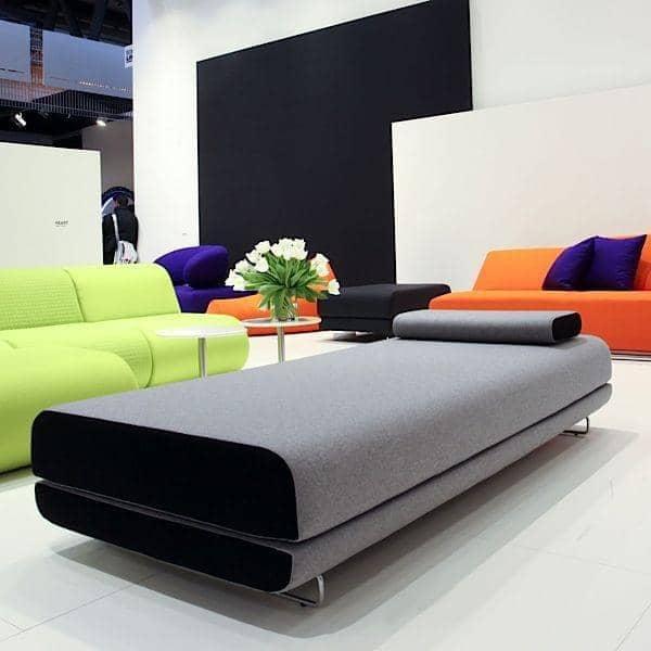 SHINE dag seng, en meget komfortabel og stilfuld sovesofa. Pude medfølger - Deco og design, SOFTLINE
