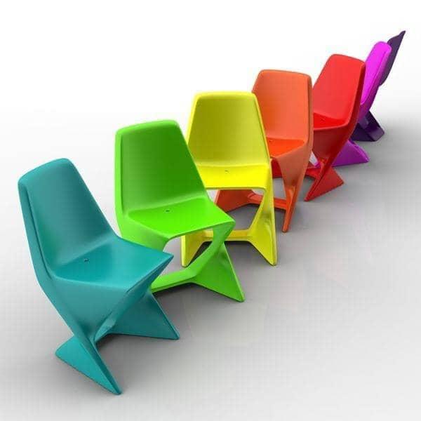 ISO CHAIR, elegante y apilable - respetuoso del medio ambiente, decoración y diseño, QUI EST PAUL