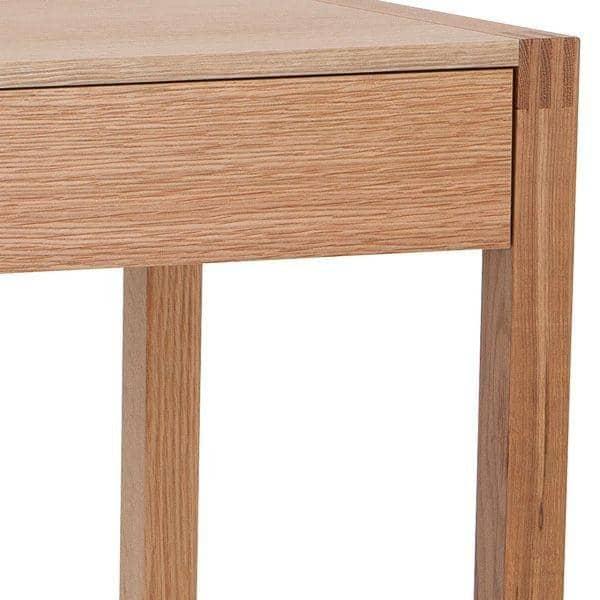 Newest desk con caj n hecho con roble macizo fsc - Precio madera de roble ...