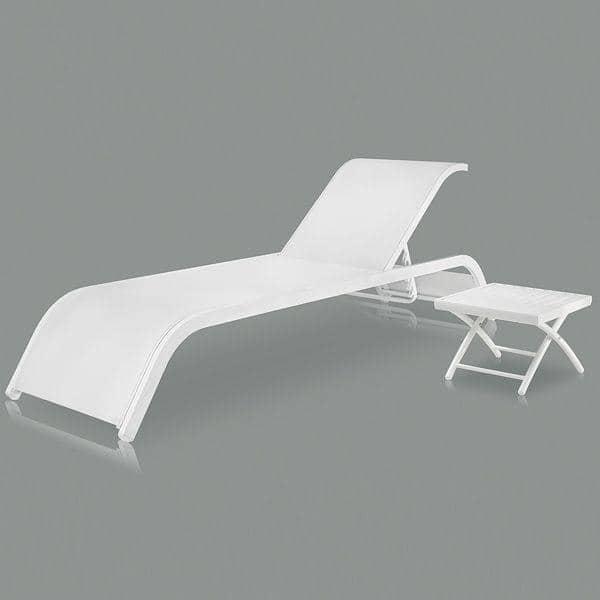 transat alutex structure aluminium et toile textil ne h misph re. Black Bedroom Furniture Sets. Home Design Ideas