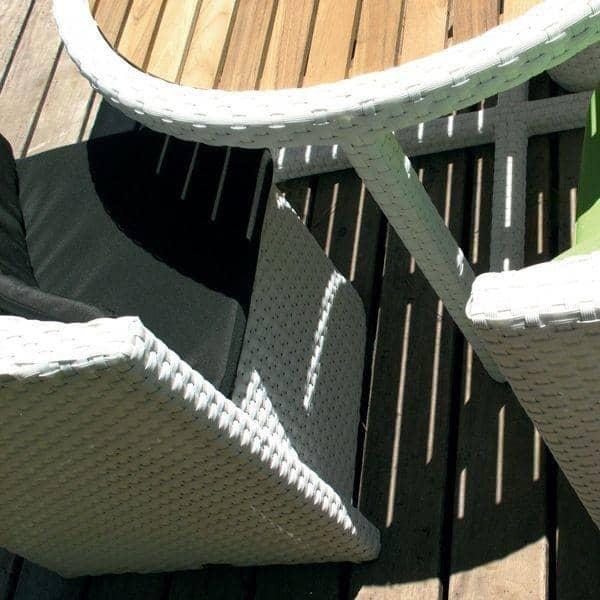 Muebles de jard n proximity resina trenzada h misph re ditions for Muebles jardin resina