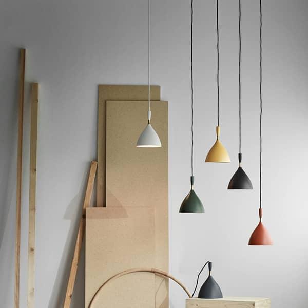 DOKKA er et lille vedhæng lys med en ren profil - Deco og design, NORTHERN LIGHTING