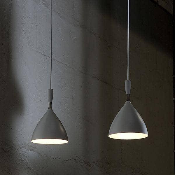Luce Sospensione Design.Dokka E Una Piccola Lampada A Sospensione Con Un Profilo Pulito Deco E Del Design Northern Lighting