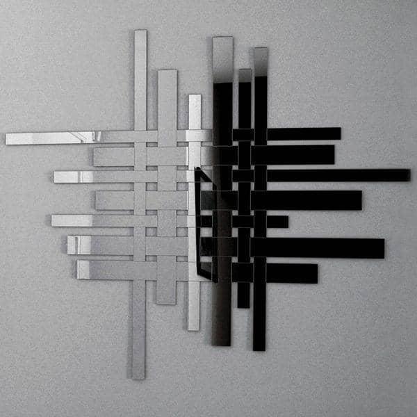 miroir d coratif trafic la vie urbaine stylis e 103 x 91 cm deco et design. Black Bedroom Furniture Sets. Home Design Ideas