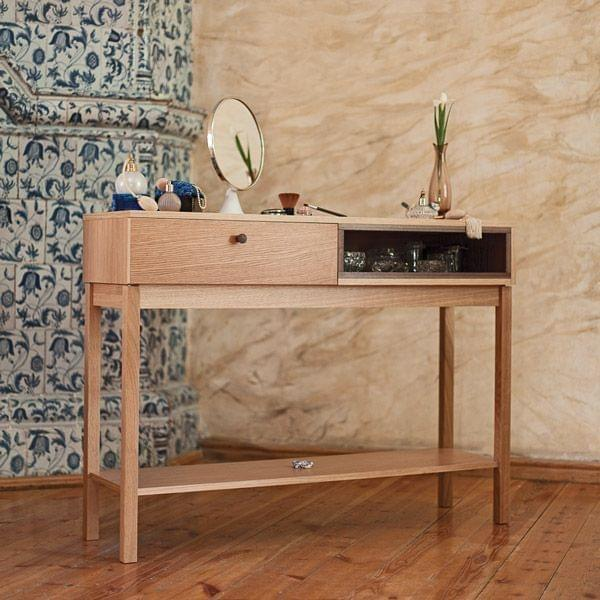 console kensington ch ne massif et d tails en noyer leonhard pfeifer. Black Bedroom Furniture Sets. Home Design Ideas
