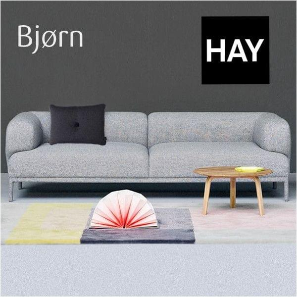 bjorn sofa hay ein leichtes sofa mit abgerundeten formen deko und design. Black Bedroom Furniture Sets. Home Design Ideas