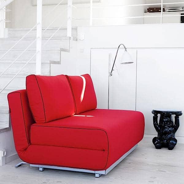 CITY sillón y un sofá: en un minuto, se obtiene un cómodo sofá cama - deco y el diseño, SOFTLINE