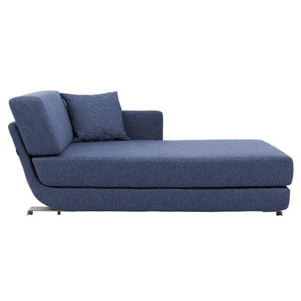 LOUNGE, sofa 3 places convertible , méridienne et pouf, tissus ECO COTON et VISION