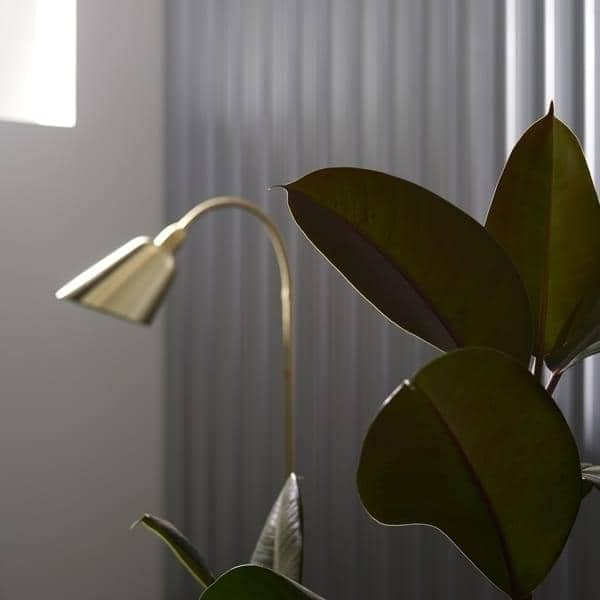 BELLEVUE collection (wall lamp, desk lamp and floor lamp) created by Arne Jacobsen in  Timeless design.