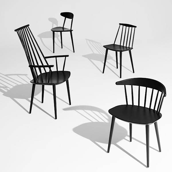 The J77 Chair, HAY: a taste of vintage, great confort, nordic design